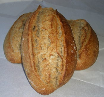 Pain nature semi complet au levain naturel